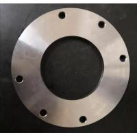 China Carbon Steel CNC Motor Parts Centrifugal Pump Flange Water Pump Parts on sale