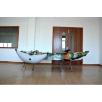 China Plastic Sea Fishing Kayak Customized Color Well Performance With Rod Holders And Paddle wholesale