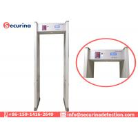 China 6 Zones Walk Through Security Detector Door Frame For Security Protection wholesale