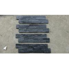 China Black Slate Wall Stone Panels For Inside / Outside Wall Stone Cladding wholesale