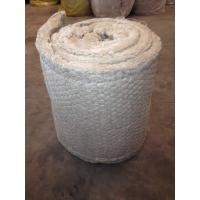 China Flexible Rockwool Insulation Blanket Fire Proof 25mm - 150mm Thickness wholesale