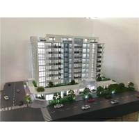 China Led lighting 3d model architecture for apartment ,1/75scale maquette building wholesale