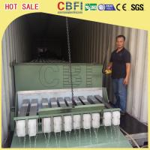 Buy cheap Usine de glace containerisée de bloc de 3 tonnes, grande production de glace de fabricant commercial de bloc from wholesalers