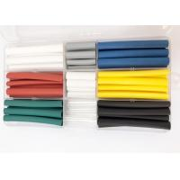 China 90PCS Colorful Polyolefin Heat Shrink Tubing For Mobile Phone Data Cable Or Wire Repair wholesale