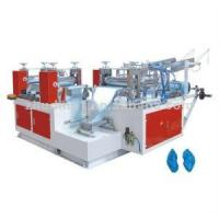 China Disposable PE Plastic Shoe Cover Making Machine (ZD-XT) on sale