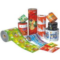China Food grade pvc printed shrink film / label , wrap around water bottle labels wholesale