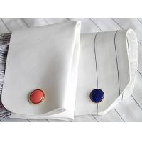 China 2012 New Style Black Blank Photo Cufflink wholesale