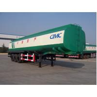 China 3 axles various material oil/fuel tank trailer with tool box on sale on sale