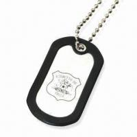 China Dog Tag/Pet ID Tag, Customized Logos and Designs Welcomed, Made of Stainless Steel on sale