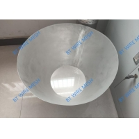 China Stainless Steel 304 Laser Cutting Slot Mesh Filter Basket 1.7mm Aperture wholesale
