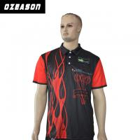 China 100% Polyester Custom Design Logo Breathable Slim Fit Polo Shirt wholesale