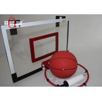 China Children'S Indoor Basketball Hoop With Stand , Shatterproof Small Basketball Hoop wholesale