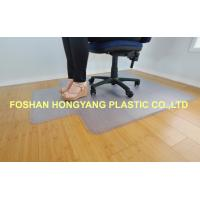 China Clear Non Slip Grips Chair Floor Protector Mat For Chairs , 1800x 3000 mm wholesale
