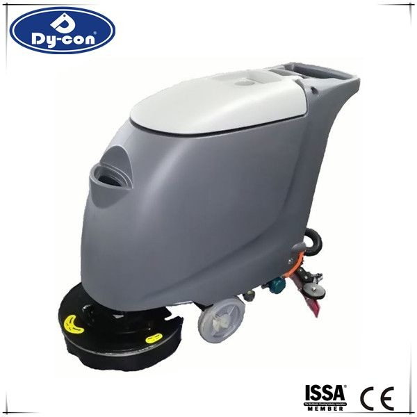 Quality 18 Inch Walk Behind Floor Scrubber Machine For Hospital / Restaurant  Durability for sale