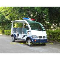 Buy cheap Street Road Legal Electric Patrol Vehicles 8 Passengers Environmental Friendly from wholesalers
