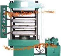 China Vulcanizing press/Rubber Tile making machine on sale
