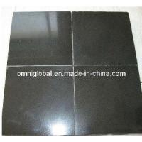 China Absolute Black/ China Black Granite Tile/ Wall Tile wholesale