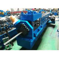 China 2 3 Garage Door Guide Rail Roll Former PLC Controlled With Bending Machine wholesale