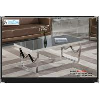 China 1509,Temperate glass table,living room furniture wholesale