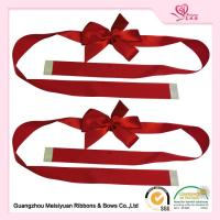 China Custom Red Gift Wrap Bows for christmas presents With Self adhesive Tape wholesale