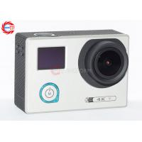 China Underwater 30m Sports HD DV With Adjustable Angle , HDMI 4K 24 Fps Action Camera wholesale