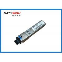 China Small Form Pluggable SFP Optical Module Multipurpose For GPON OLT Class C+ / FTTX wholesale