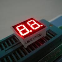 China 0.36 Inch Red Dual Digit 7 Segment LED Displays High Brightness For Electronic Device wholesale