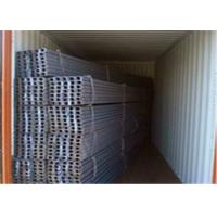 China High Strength U Beam Steel 24.76kgs/m Theory Weight For Mining Supporting wholesale