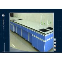China MDF Tops Chemistry Science Lab Tables , Electronic Steel  Lab Computer Desk on sale