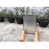 China 16 Mm Hollow Glass Window PanelsWith Lower HVAC Costs , Protects Privacy wholesale