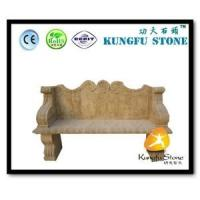 China Xiamen Kungfu Stone Ltd supply Natural Stone Bench For Garden In High quality and cheap price wholesale