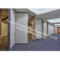 China PVC Panel Folding Doors Soundproof Sliding Accordion Partition Doors For Conference Room wholesale