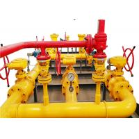China Gas Pressure Regulating And Metering Station For Natural Gas Transmission on sale
