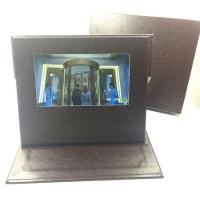 China A45 matt cover  4.3 inch video postcard mailer,video booklets for promotion wholesale