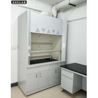 China All Steel Structure Lab Vent Hood , Industrial Fume Hood 1200 / 1800 / 1500mm on sale