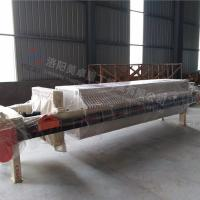 China Customized Size Chamber Filter Press Equipment  Automatic Control Dehydration Function on sale