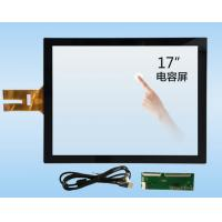 China 10.4 To 65 Inch G+G / G+FF Projected Capacitive Touch Screen Panel with USB interface wholesale