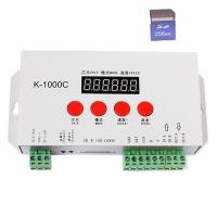Quality Sd Card Programmable RGB LED Controllers Stainless Steel Material K-1000C for sale