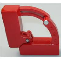 China Red color Welding Magnetic Positioner Size 105X105X36mm Power Force 25N wholesale