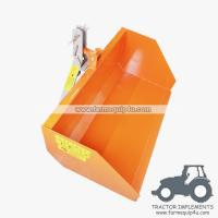 6TSCP - Farm equipment tractor 3point hitch trip scoop