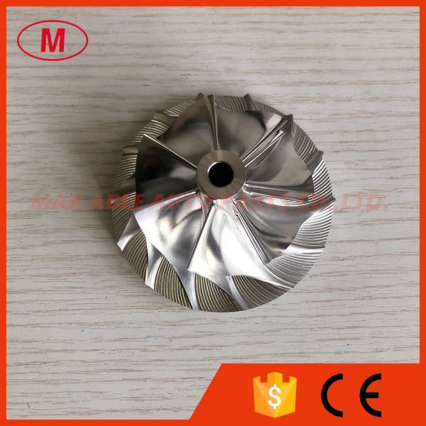 Quality K27 5070-123-2005/2006 54.68/76.79mm 7+7 blades Turbo Billet/milling/aluminum 2618 compressor wheel for Various/OM926 for sale