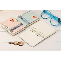China A5 size hard cover spiral notebook with elastic band wholesale