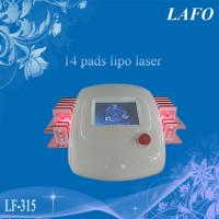 China 14 Pads Diode Lipo Laser Fat System wholesale