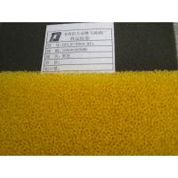 China Activated Carbon Air Filter Foam Sponge Yellow Fire Retardant Materials wholesale