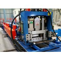 CE / BV CZ Steel Frame Roll Forming Machine Hydraulic Punching Type