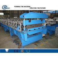 China Automatic Floor Deck Roll Forming Machine , Structural Steel Decking Systems wholesale
