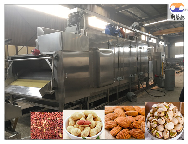 Quality Hazelnut Pistachios Nut Roasting Equipment Chain Driven CE ISO9001 Certificate for sale