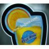 """China BLUE MOON GLASS AND ORANGE SHAPE 26"""" X 13"""" LED LIGHT BAR SIGN wholesale"""
