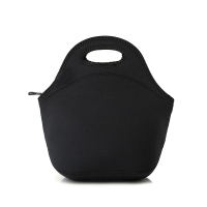 China Eco Friendly Dustproof Black Neoprene Lunch Tote Bag wholesale