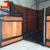China Metal Horse Stall Fronts Fence Panel Stable With Sliding Door Or Swing Door on sale